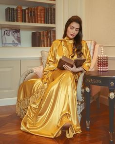 Silk Satin Dress, Satin Saree, Gold Dress, Satin Dresses, Sparkle Dresses, Curvy Dress, Satin Lingerie, Leather Dresses, Beautiful Asian Women