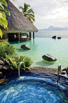 Bora bora!! Who wouldn't want to spend a week here?
