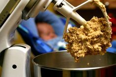 Rather than baking an entire batch of cookies all at once, you can just bake the amount you want and... - AP/Larry Crowe