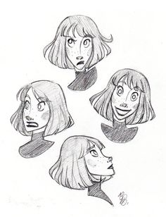 """Daily Sketches #018 - 18/01/2015 I'm thinking about calling her """"Annie"""""""