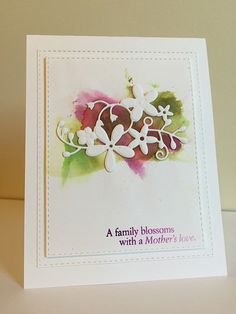 Such a Gorgeous card by nurseskerl using a Simon Says Stamp Exclusive die