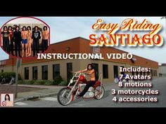 Easy Riding Santiago Content Pack for iClone
