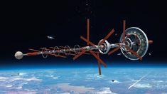 high obit commercial space-port , Marnix Rekkers on ArtStation at https://www.artstation.com/artwork/BeeQr