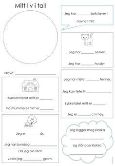 frk linn: høstplanleggingen er allerede i gang - min side Preschool Learning, Teaching Math, Primary School, Elementary Schools, Barn Crafts, Too Cool For School, Toddler Activities, Kids And Parenting, Mathematics
