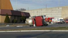 Tanker truck flips over in Raritan, New Jersey, causing road closures and evacuations http://abc7ny.com/traffic/route-206-closed-after-tanker-flips-in-raritan/1236059/