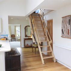 Sandringham Electric Folding Loft Ladder -- Available in a range of made to measure opening sizes and suits a floor height up to 3600mm. # From £5,634.00 (Inc VAT & UK Mainland Delivery)