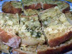 Receita Entrada : Bruschettas de alho e endro com queijo da ilha de Ana jesus cozinha com arte