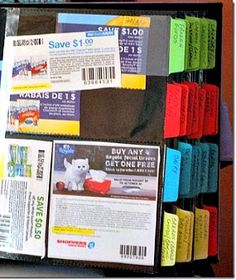 Coupon Organizing Tips - Simply Frugal