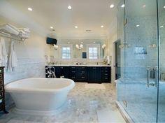 "Bath Photos ""tile Wainscot"" Design, Pictures, Remodel, Decor and Ideas - page 10"
