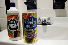 This stuff is amazing for cleaning. It cleaned my corian sink like nothing else could. Bar Keepers friend is my friend forever!!