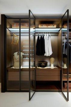 Simple Kleider Damen Innenbeleuchtung Begehbarer Schrank Kleiderschrank Haus Schr nke Sch n London Cabinets