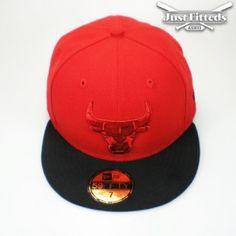 2338b9faaf4ac9 chicago bulls team pop tonal new era cap red black