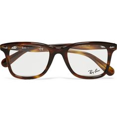Ray-Ban Original Wayfarer Square-Frame Acetate Optical Glasses | MR PORTER