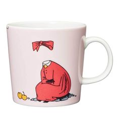 "Moomin Mugs from Arabia – A Complete Overview Ninny / Ninni puuteri The motif comes mainly from the story ""Tales from Moominvalley"". One euro per sold mug goes to the Children welfare organization ""Rädda barnen"" (Save the Children)."