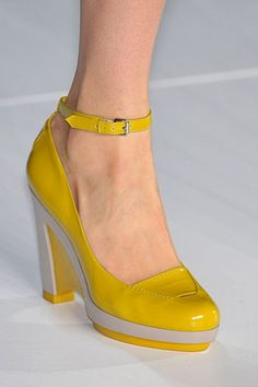 Yellow Marc by Marc jacobs shoes
