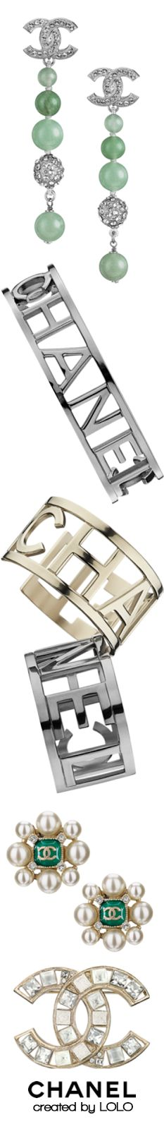 FASHION, Chanel, accessories, bracelets, rings, earrings, brooches, Spring/Summer 2015, Chanel Spring-Summer 2015 Accessories