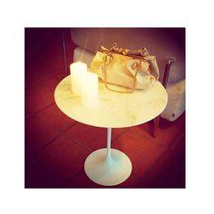 The History of #Design: Eero Saarinen: coffee table. Esclusive Knoll design. #Design #chiarasroom @KnollInc