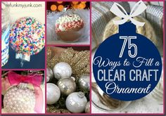 75 Ways to Fill Clea