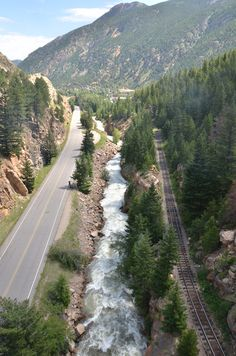 Georgetown, Colorado...where I melted my car engine with 2 crazy girls. Great place to be stuck in!