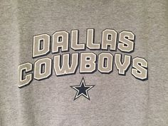 Dallas Cowboys Mens T Shirt Sz XL Gray Cowboys Team Apparel NFL Short Sleeve | eBay Dallas Cowboys, Nfl Shirts, Nfl Team Apparel, Ebay, Sweatshirts, T Shirt, Men, Shopping, Hoodies