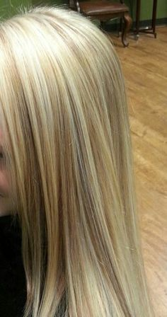 Naturally a light blonde....enhanced with highlights and lowlights! Hair by Kristen McGuire Burlington NC
