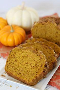 Simply the BEST Pumpkin Cinnamon Bread Recipe!