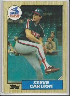 Steve Carlton – 1987 Topps #718