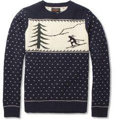 Beams PlusSki Intarsia Wool-Blend Sweater|MR PORTER