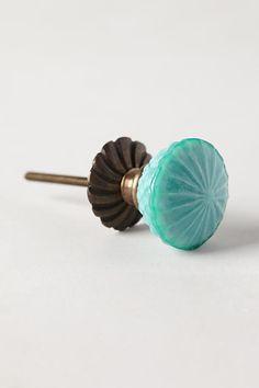 Simmered Glass Knob