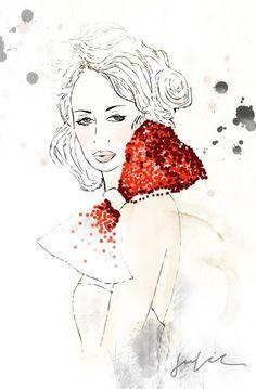 jacklyn laryea fashion illustration