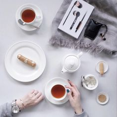 """Lucky - #whywhiteworks on Instagram: """"Morning rituals at my favorite place in town for having teatime. Love my new vasa black rose gold headphones from @sudiosweden, the design is so chic & the sound quality is amazing ☕️. You could use discount code : luckyoetama to receive 15% off including free worldwide shipping! #sudiosweden #whywhiteworks @whywhiteworksofficial"""""""