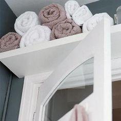 31 Creative Storage Idea For A Small Bathroom Organization - Pelfind