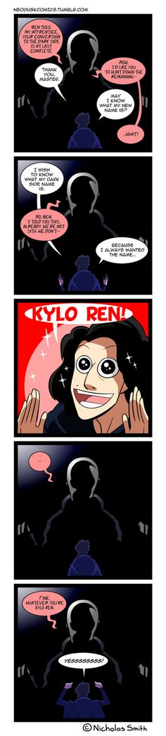 Fandumb #104: Ben Solo's Transformation by Neodusk on DeviantArt