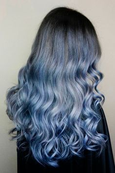Stunning Styles for Blue Ombre Hair That Will Make You Flip! ★ See more: http://lovehairstyles.com/stunning-blue-ombre-hair/