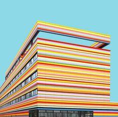 Vibrant & Colorful Architecture Photography – Fubiz Media