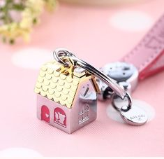 House Shape Keyring Shiny Key Ring Chain Fob New Home Gift Silver Pink Gold Girl Gold Girl, Pink And Gold, Christmas Deals, Christmas Gifts, New Home Gifts, Key Rings, My Ebay, Cufflinks, Shapes