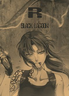 Revy, Black Lagoon. God this show is great.