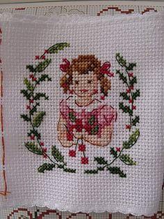 Cross Stitch Fairy, Cross Stitch For Kids, Cute Cross Stitch, Cross Stitch Heart, Cross Stitch Designs, Cross Stitch Patterns, Cross Stitching, Cross Stitch Embroidery, Embroidery Patterns