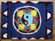 Obra de artesanía: Mandala Yin-Yang Artesanos de la tierra