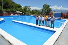 El verano también se disfruta en la pileta de villa Las Rosas: La Municipalidad dejó habilitado este natatorio, que se suma al balneario…