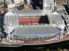 Millennium Stadium, Cardiff. National Stadium of Wales.