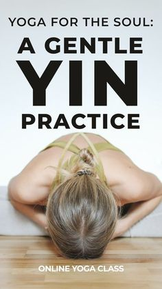 Release deep tension in the neck, shoulders, upper back, and hips with this gentle and sweet 60-minute yin practice that will help you relax and surrender. #yinyoga