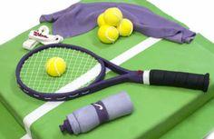 Tennis Time Birthday Cake | Celebration Cakes