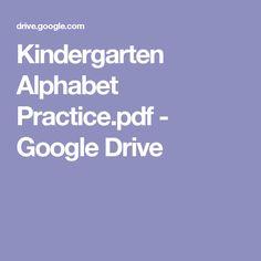 Kindergarten Alphabet Practice.pdf - Google Drive
