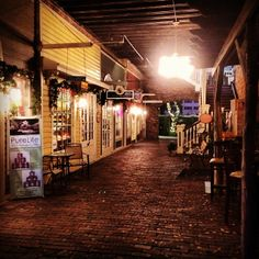 """Path through the Cotton Exchange, Wilmington, NC  """"For what is a man profited, if he shall gain the whole world, and lose his own soul? Or what shall a man give in exchange for his soul?"""" (Matthew 16:26)"""