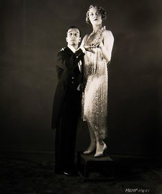 Buster and Leila Hyams #1929