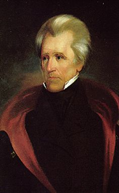 Here is the official White House portrait of Andrew Jackson. - Source: White House. President of the United States.