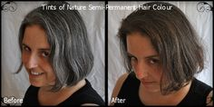 New Semi Permanent Color for Gray Hair