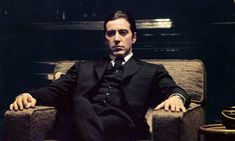 Al Pacino (B-Day) is 81 on April 25th. And Al's only ever picked up ONE Academy Award in his entire career. One. The Godfather Part Ii, Godfather Quotes, Don Draper, Al Pacino, History Channel, Epic Movie, Movie Tv, Brad Pitt, Thighs