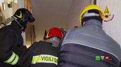 Sisma centro Italia - Soccorsi dei Vigili del Fuoco - Visso 26 Dicembre ...